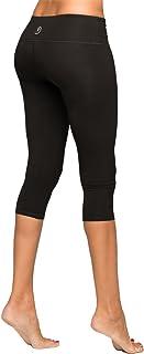 53ddc770a001d Black Cropped Yoga Leggings by YOGiiZA in Pima Organic Cotton