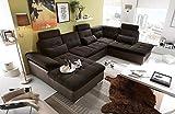 lifestyle4living Ecksofa, Sofaecke, Wohnlandschaft, Couch, U-Form, Couchgarnitur, Polsterecke,...