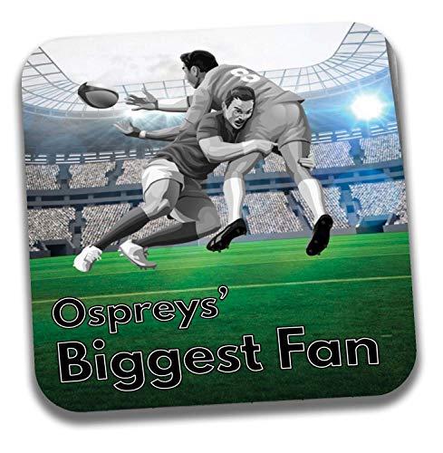 Ospreys Big Fan Rugby Untersetzer – Geburtstagsgeschenk/Strumpffüller