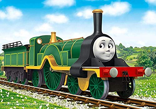 Adoff Jigsaw Puzzle 1000 Thomas Train Jigsaw Puzle for-Paper Niños Clásico Toys Gift for-Paper