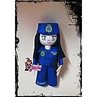 Broche policía nacional fofucha 10 cms. personalizado