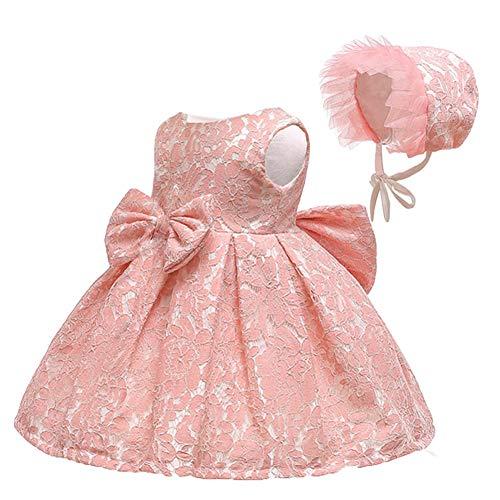 LZH Bebé Vestido Las Niñas Flor Bowknot Princesa Cumpleaños Fiesta Deshierbe