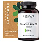 Kurkraft® Bockshornklee Aktiviert - Bio-Zertifiziert & Laborgeprüft - Vegan - 2600mg (650mg je...