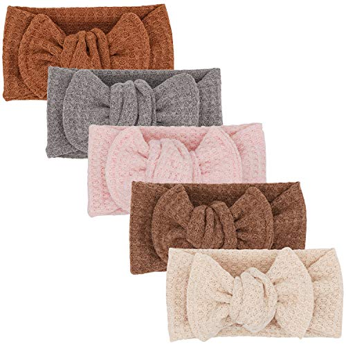Baby Girls Headbands with Bows Infant Toddler Headwrap Hair Accessories