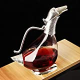 New Lead-free Crystal Glass Household Duck Decanter, Wine Dispenser, Bottle, Wine Jug, Wine Set Bar Wine Tools for Picnic Home Party Camping