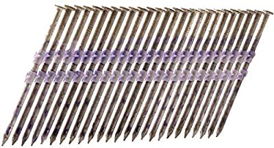 Metabo HPT 20163SHPT 3-1/4-in x .131 Framing Nails | Full Round Head | Hot Dipped Galvanized | Plastic Strip Collation | For 21 Degree Framing Nailers | 1000 Count by Metabo HPT