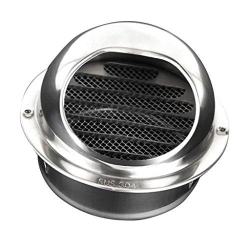 Gen'rico Cubierta de Ventilación de Metal Complimentos Salida de Extractor Duradero - 12,9 m