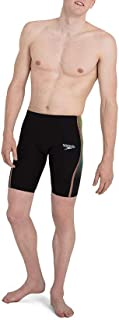 Speedo Men's Fastskin Lzr Pure Intent High Waist Jammer Am Swim Briefs