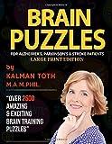 Brain Puzzles For Alzheimer's, Parkinson's & Stroke Patients: Large Print Edition