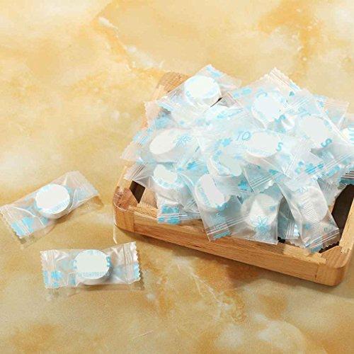 Babysbreath17 50pcs / set de toallas desechables aire comprimido mágico viaje algodón Máscara de tejido de tela de la tableta de papel Toallitas
