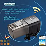 LONDAFISH Aquarium Wi-FI Mangeoire à Poisson Automatique Mangeoires à Poisson Auto Fish Food Timer Feeder pour Fish Tank