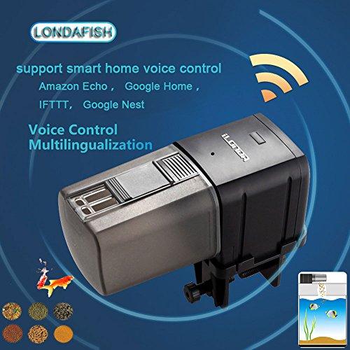 LONDAFISH Alimentador automático del Pescado del comedero de los Pesc