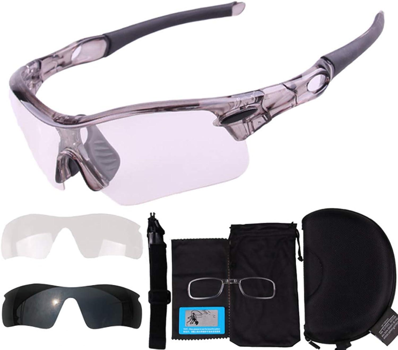 JESSIEKERVIN YY3 Outdoor-Radsportbrille Fahrrad Farbwechselbrille Erwachsene Brille für Outdoor-Radsportler geeignet.