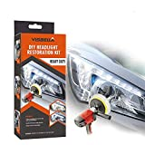 Visbella Professional Headlight Restoration Kit DIY Headlamp Brightener Car Care Repair kit Head Lense Clean (Automatic)