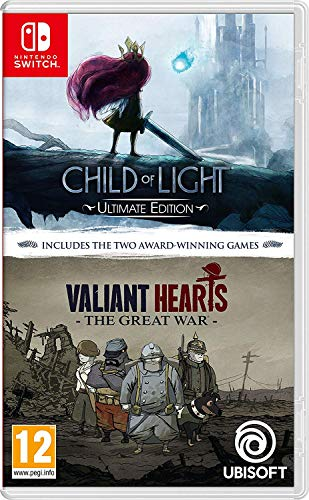 Child of Light - Ultimate Edition + Valiant Hearts The Great War - Double Pack NSW