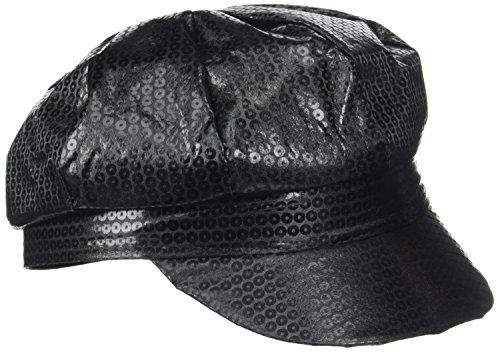 Rire Et Confetti - Fiedis037 - Accessoire pour Déguisement - Casquette Noire
