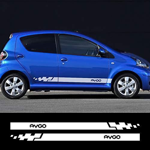 FSXTLLL Auto Pegatinas De Calcomanías, Para Toyota Aygo