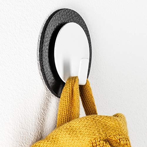 silwy Magnet-Haken mit Metall-Nano-Gel-Pads, wiederverwendbar, flexibel einsetzbar, Keine Kleberückstände, perfekt für Geschirrtücher, Topflappen // CLEVER