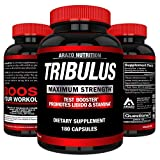 Best Testosterone Boosters - Tribulus Terrestris Extract Powder 45% Steroidal Saponins 1500mg Review