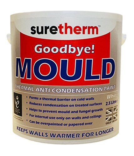 Anti Mould & Anti Condensation Insulating Glass Bubble Thermal Paint 2.5Ltrs Suretherm