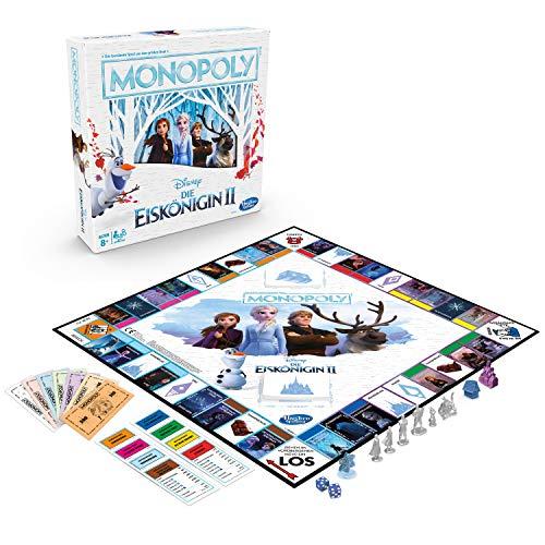 Hasbro 61106642 Disney Die Eiskönigin 2 Monopoly, Brettspiel für Kinder ab 8 Jahren