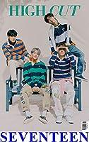 表紙:SEVENTEEN 4人/HIGH CUT 260号【4点構成】/韓国雑誌/HIGHCUT 260号 /K-POP/KPOP/セブンティーン Vernon,Mingyu,THE 8,Hoshi
