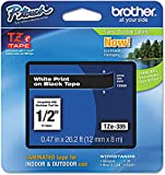 Brother Genuine P-touch TZE-335 Label Tape, 1/2'...