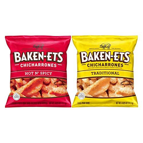Baken-Ets Pork Skins, Chicharrones, Variety Pack 0.625oz Bags (24...