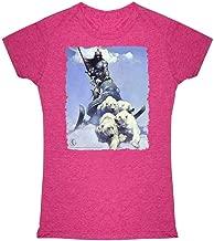 Silver Warrior by Frank Frazetta Art Graphic Tee T Shirt for Women