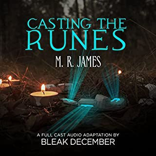 Casting the Runes audiobook cover art