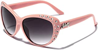 Giselle Kids AGE 6-14 Rhinestone Cat Eye Sunglasses