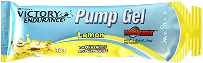 Victory Endurance Pump Gel Lemon 42g x 24 gels Vasodilator Effect Enriched with Vitamin B6 and B1 Estimated Price : £ 37,85