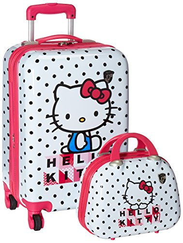 Heys Girls' Hello Kitty Spinner and Beauty Case, One Size