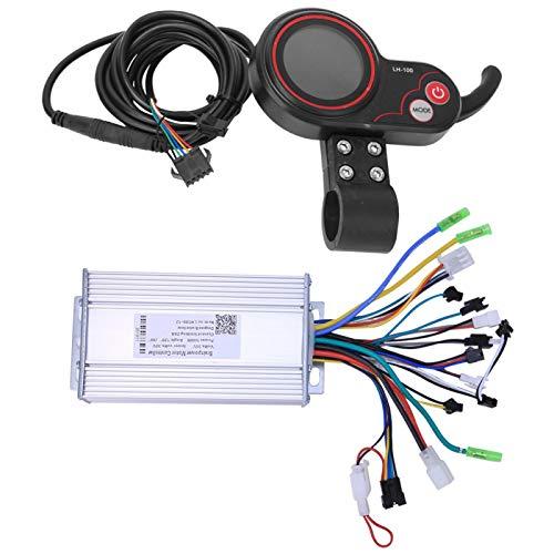 FOLOSAFENAR Controlador 36V 500W Temporizador Sleep LH100, para Bicicletas Eléctricas