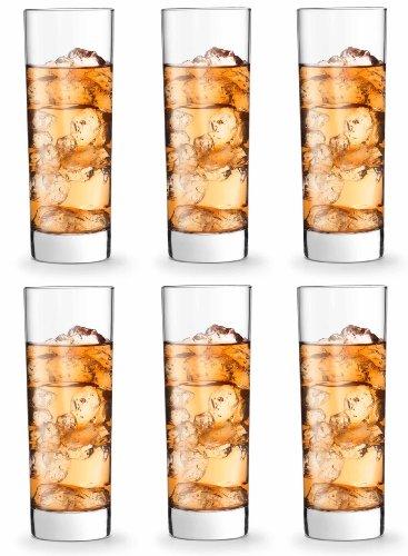 Libbey 922217 Tasty - Juego de 6 Vasos de Tubo (31 cl)