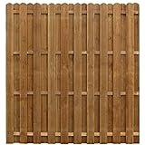 Estink - Panel de madera para jardín (madera de pineso impregnado, 170 x 170 cm)