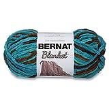 Bernat Blanket Super Bulky Yarn, 5.3oz, Guage 6 Super Bulky, Mallard Wood
