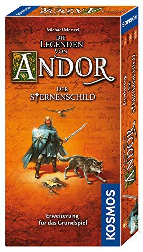 Kosmos 691936 - Die Legenden von Andor Der Sternenschild, Erweiterung für das Grundspiel Die Legenden von Andor, ab 10 Jahren, Fantasy-Brettspiel