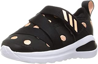 Adidas FortaRun X Velcro-Strap Slip-on Running Sneakers for Kids