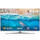 HISENSE H55U7BE Smart TV ULED Ultra HD 4K 55', Dolby Vision HDR, Dolby Atmos, Unibody Design, Ultra Dimming,...