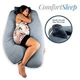 Titan Premium U-Shaped Pregnancy Pillow Includes Support Pillow. Removable and Reversible Cover with...