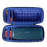 Hart Reise Schutz Hülle Etui Tasche für JBL Charge 4 Tragbarer Bluetooth Lautsprecher von co2CREA (Blaue Lagune)