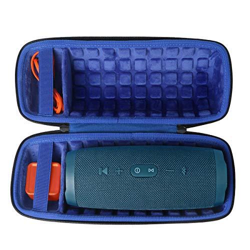 Duro Viajar Caso Cubrir para JBL Charge 4 Altavoz Bluetooth inalámbrico Portátil por co2CREA (Azul Real)