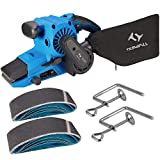 900W Belt Sander, Tilswall 370-710RPM 6 Variable Speed Control, 10PCS...