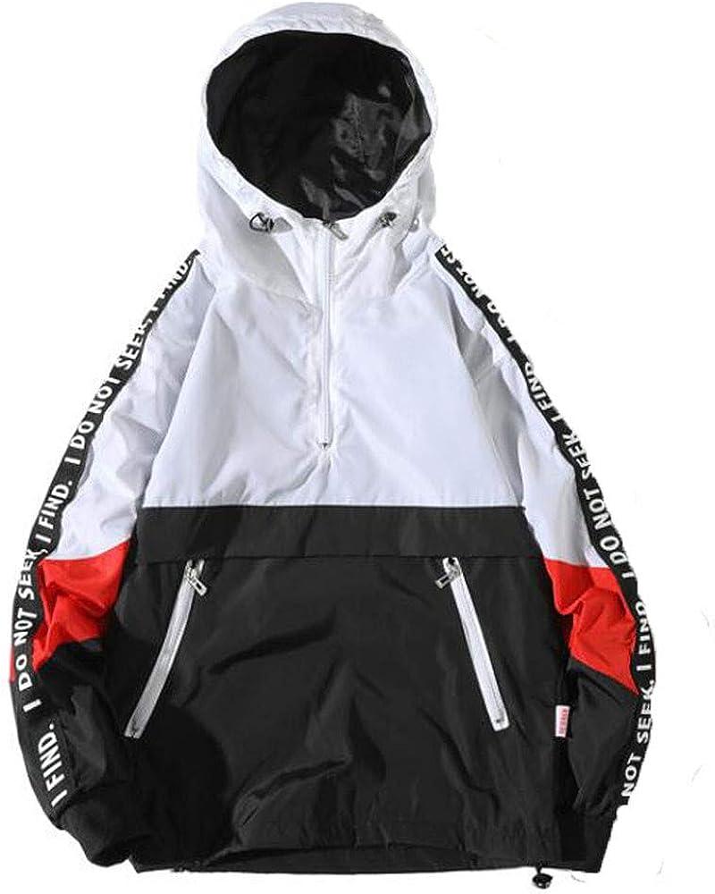ZEFOTIM Men's Autumn Winter Style Loose Hooded Assault Coat Large Size Jacket Clothing