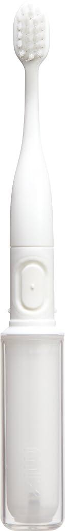 個人的に味方真向こうラドンナ 携帯音波振動歯ブラシ mix (ミックス) MIX-ET ホワイト