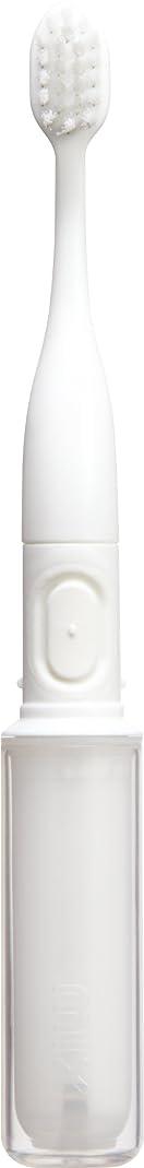 側面計り知れないボトルネックラドンナ 携帯音波振動歯ブラシ mix (ミックス) MIX-ET ホワイト