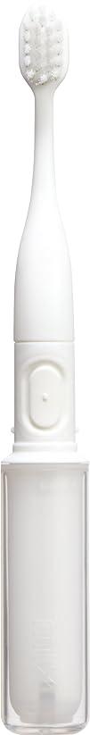少数アウトドア寄生虫ラドンナ 携帯音波振動歯ブラシ mix (ミックス) MIX-ET ホワイト