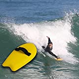 LANGWEI Handboard Body Surfer, Body Surfing Hand Plane with Wrist Leash Construction, Water Skis Wakeboard for Water Sports
