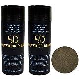 Fibras Capilares Salvathor Duran 25g x2 - Pack Dos Unidades - Hair Fiber Duo (50 gr. Total) (Castaño Medio)